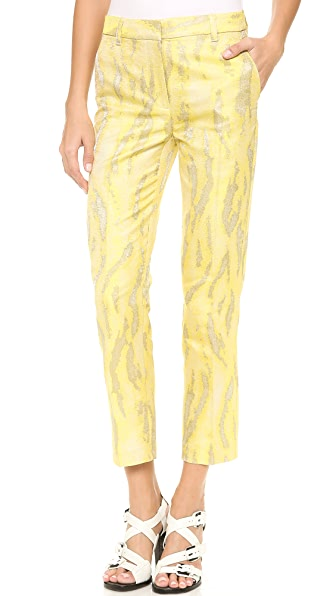 3.1 Phillip Lim Classic Jacquard Pencil Pants