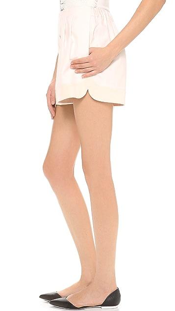 3.1 Phillip Lim Curved Hem Shorts
