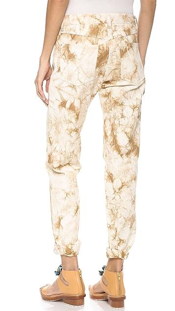 3.1 Phillip Lim Splattered Grunge Jeans