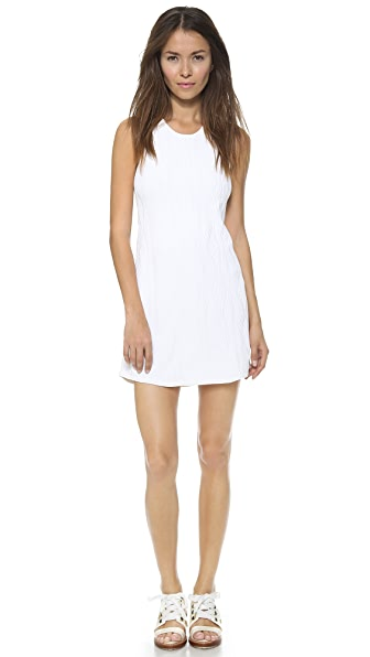 3.1 Phillip Lim Sleeveless Geometric Stitch Dress