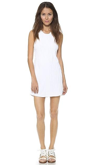 3.1 Phillip Lim Sleeveless Geometric Stitch Dress