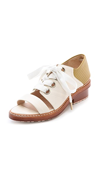 3.1 Phillip Lim Floreanna Peep Toe Oxfords
