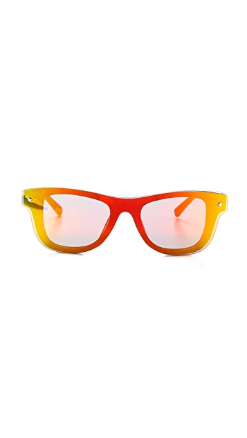 3.1 Phillip Lim Sunset Mirrored Sunglasses