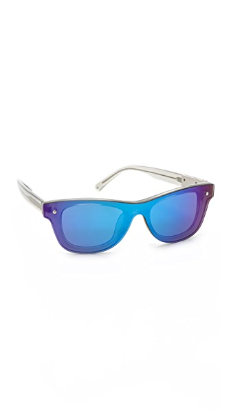 3.1 Phillip Lim Sunvapour Mirrored Sunglasses