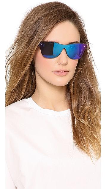 3.1 Phillip Lim Sunvapour Mirrored Sunglasses