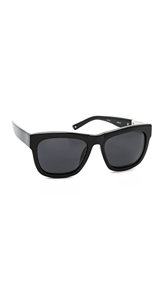 3.1 Phillip Lim Polarized Classic Sunglasses