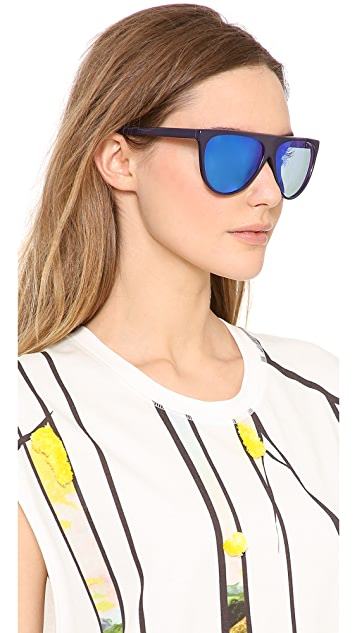 3.1 Phillip Lim Flat Top Sunglasses