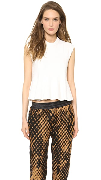 3.1 Phillip Lim Sleeveless Flare Top