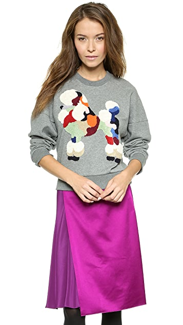 3.1 Phillip Lim Tufted Poodle Sweatshirt