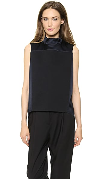 3.1 Phillip Lim Sleeveless Mock Neck Top