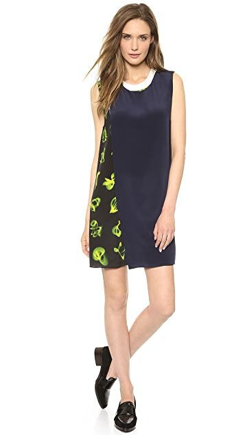3.1 Phillip Lim Layered Mix Print Dress