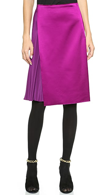 3.1 Phillip Lim Asymmetrical Overlay Skirt