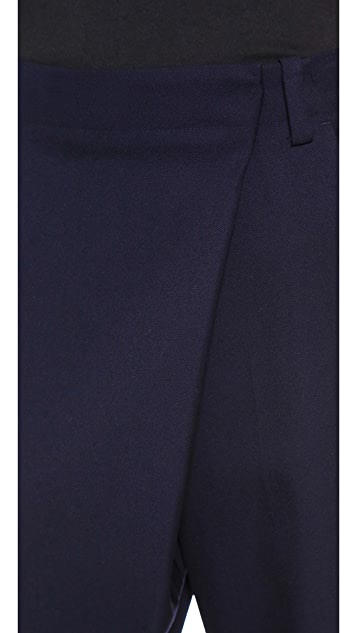 3.1 Phillip Lim Cross Front Cuff Pants