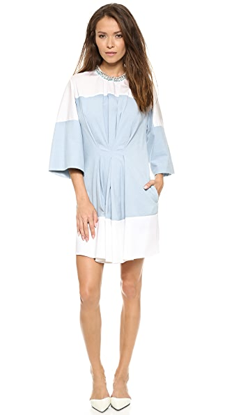 3.1 Phillip Lim Pintuck Waist Chambray Dress