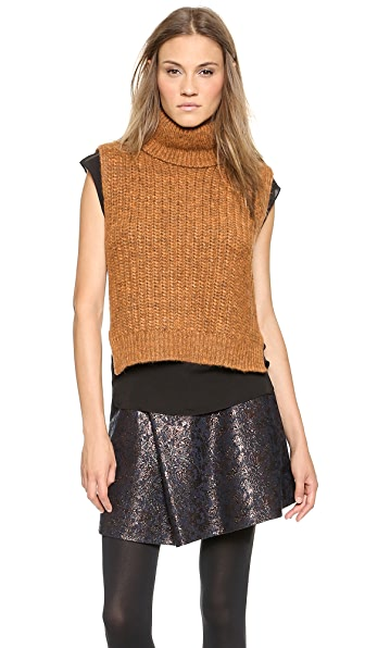 3.1 Phillip Lim Sleeveless Turtleneck Vest