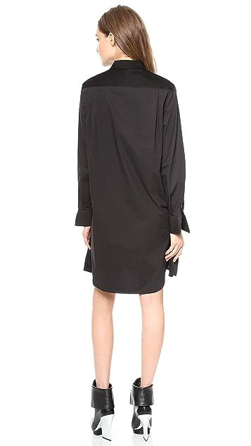 3.1 Phillip Lim Basketweave Poplin Dress