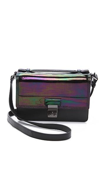 3.1 Phillip Lim Holographic Pashli Mini Messenger Bag