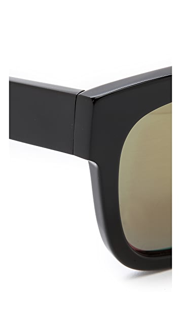 3.1 Phillip Lim Square Mirrored Sunglasses