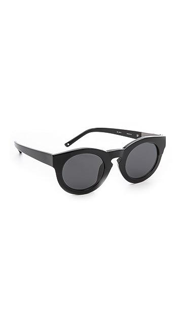 3.1 Phillip Lim Thick Frame Sunglasses