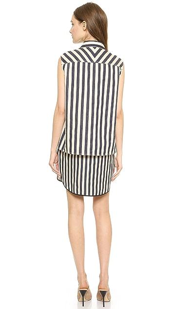3.1 Phillip Lim Two Piece Layer Shirtdress