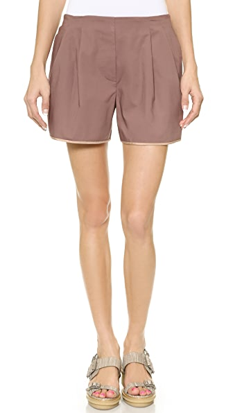 3.1 Phillip Lim Silk Hem Shorts