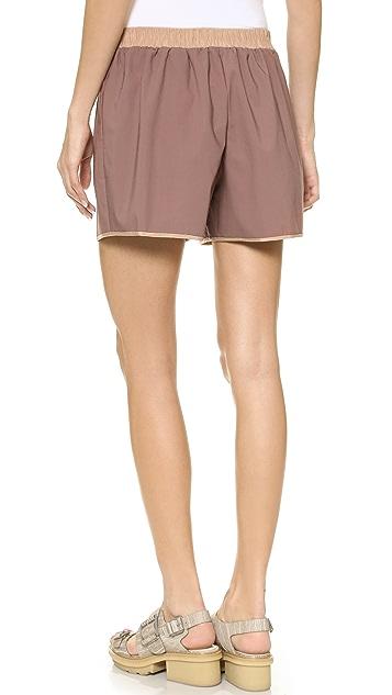 3.1 Phillip Lim Silk Hem Shorts