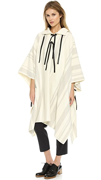 3.1 Phillip Lim Embroidered Poncho