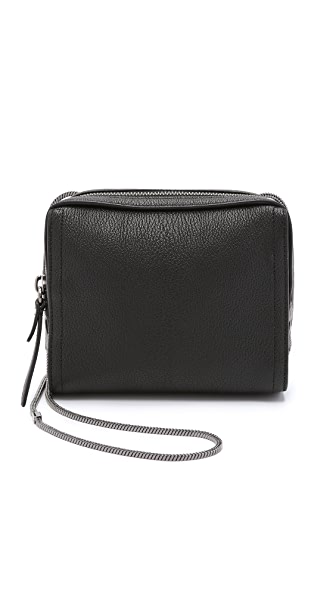 3.1 Phillip Lim Soleil Mini Zip Cross Body Bag - Black