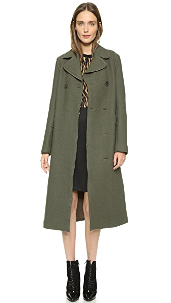 3.1 Phillip Lim Long Two Button Car Coat