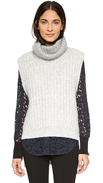 3.1 Phillip Lim Turtleneck Sweater Vest