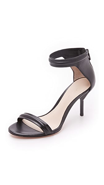 3.1 Phillip Lim Martini Sandals - Black/Black