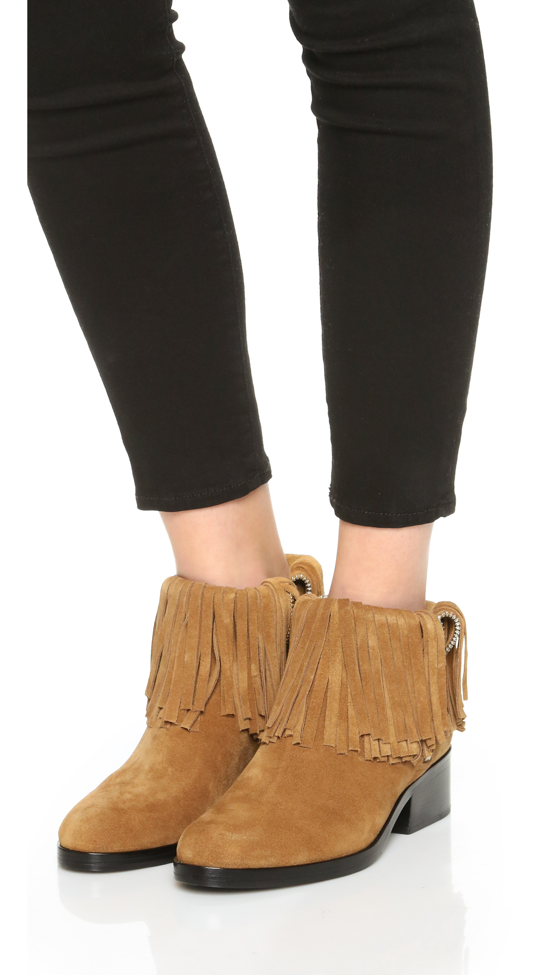 3.1 Phillip Lim Fringe Ankle Boots brand new unisex discount best sale pictures for sale s1nuO7d1Mi