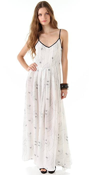 Piamita Zelda Print Maxi Dress