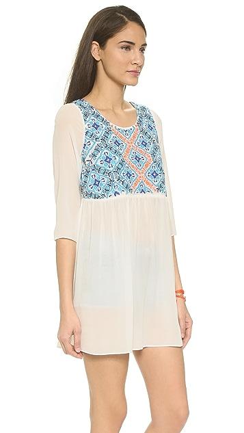 Pia Pauro Palermo Silk Beach Dress
