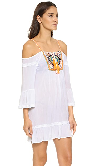 Pia Pauro Burst Beach Dress