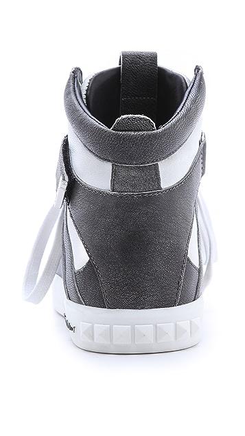 Pierre Balmain Austin High Top Sneakers