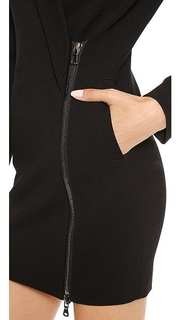 Pierre Balmain Zip Up Blazer Dress