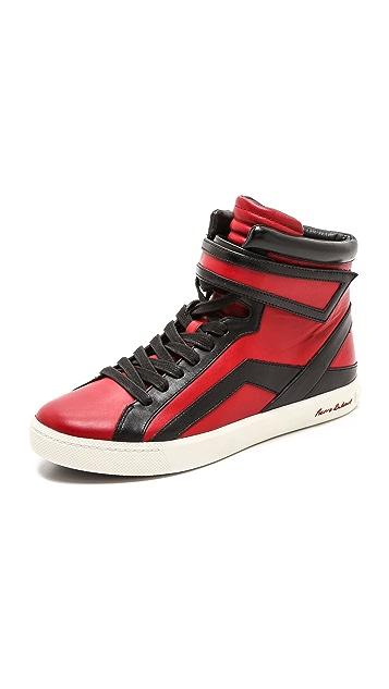 Pierre Balmain High Top Sneakers