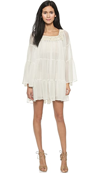 Pierre Balmain Wide Sleeve Dress