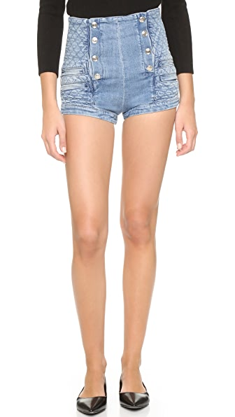 Pierre Balmain Sailor Jean Shorts