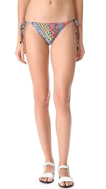 PilyQ Firefly Tie Bikini Bottoms