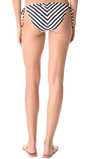 PilyQ Viceroy Tie Side Bikini Bottoms