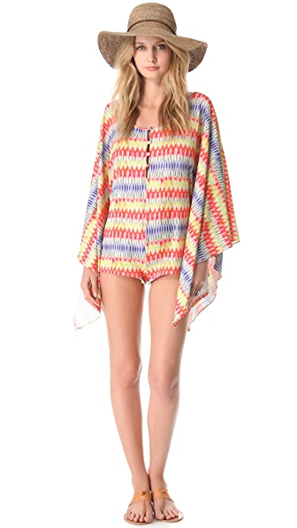 PilyQ Frazzle Dazzle Cover Up Romper