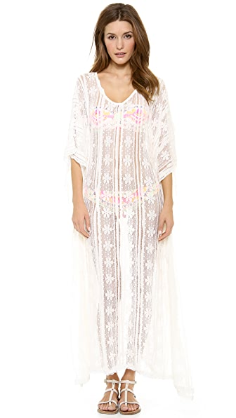PilyQ Bahama White Brynn Dress
