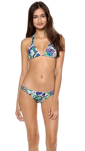PilyQ Cat Cay Triangle Bikini Top