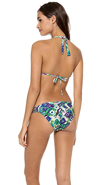 PilyQ Cat Cay Triangle Bikini Top