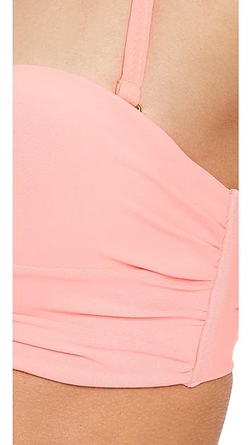 PilyQ Bombshell Bandeau Bikini Top