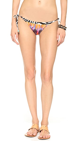PilyQ Teeny Tie Side Bikini Bottoms
