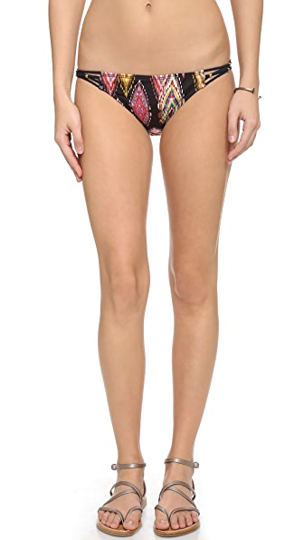 Pilyq Patara Diamond Bikini Bottoms - Multi