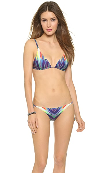 Pilyq Emma Reversible Bikini Top - Girl On Fire